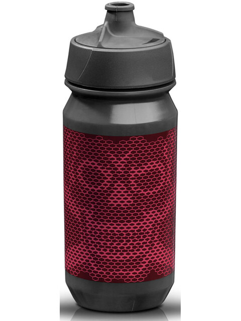 rie:sel design bot:tle 500ml skull honeycomb purple
